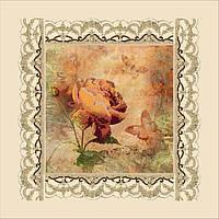 Картина бисером на холсте Идейка Винтаж (ВБ1019) 30 х 30 см