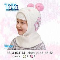 """Шлем для девочки из новой коллекции """"TuTu"""" арт. 3-003173"""