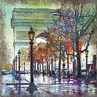 Набор для вышивки бисером Идейка Триумфальная арка (ВБ1043) 30 x 30 см