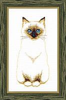 """Набор для вышивания крестом Crystal Art """"Сиамский кот"""""""
