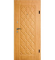 Входные двери 102 ольха светлая Квартира тм Арма