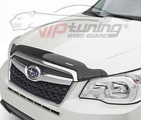 Дефлектор капота Mitsubishi Galant  2003-2008 /до ресталинга