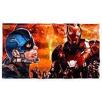 Полотенце Капитан Америка Мстители Дисней/ Captain America Towel Disney