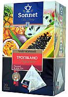 Sonnet чай чорний Тропікано 20пір