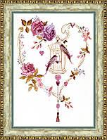 """Набор для вышивания крестом Crystal Art """"Дуэт"""" Птицы"""