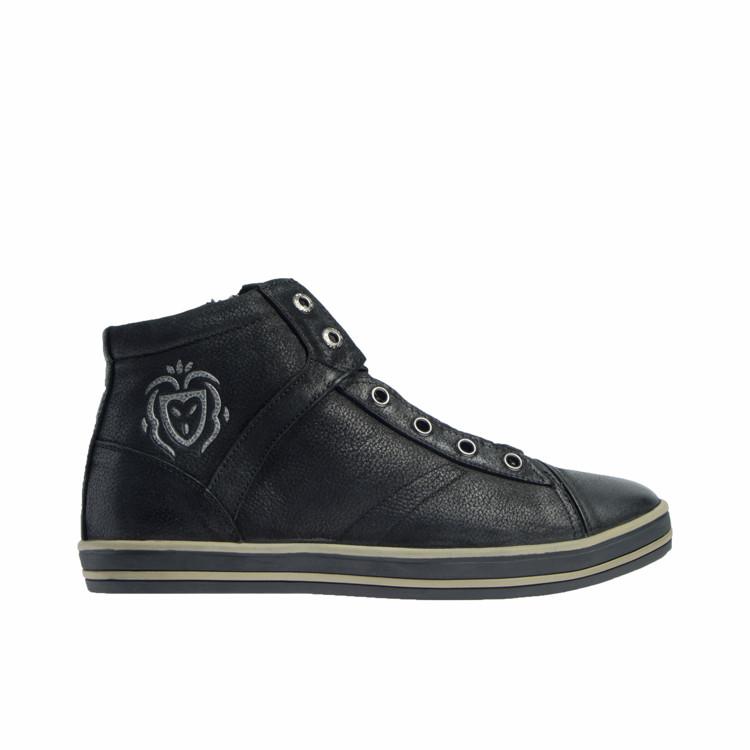 Ботинки зимние мужские из натуральной кожи с натуральным мехом