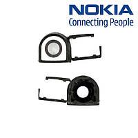 Стекло камеры для Nokia 8800 Sirocco, оригинал (черное)