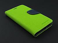 Чехол книжка Goospery для Samsung Galaxy S6 G920f зеленый