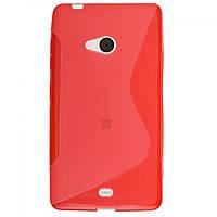 Силиконовый чехол Microsoft Nokia Lumia 540, QN105