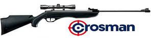 Пневматическая винтовка с оптическим прицелом Crosman Phantom 4x32 Center Point, калибр 4,5мм, 305 м/с