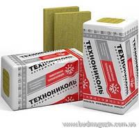 Теплоизоляция базальтовая минеральная вата ТЕХНОРУФ ПРОФ  Технониколь 40/60/80/100 мм/плотность 160 кг/м3