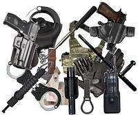 Полицейская экипировка, снаряжение, средства спец. назначения