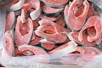 Стейк лосося свежемороженый