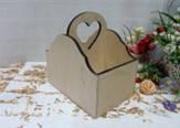 Подставка для специй мини, двойная NEW сердечко-3