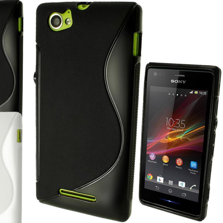 Силиконовый чехол для Sony Xperia M, K901