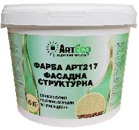 Краска фасадная структурная ArtEco 217