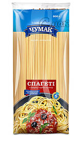 "Макароны ""Чумак"", спагетти, из твёрдых сортов пшениы 0,8 кг"
