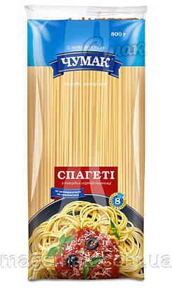 """Макароны """"Чумак"""", спагетти, из твёрдых сортов пшениы 0,8 кг, фото 2"""