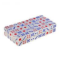 Кости игральные, кубики игральные 100 штук