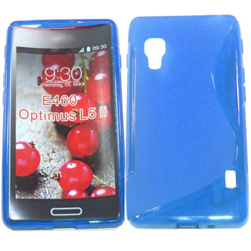 Силиконовый чехол LG Optimus L5 II Dual E460, L820