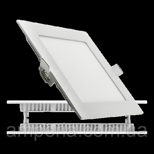 Евросвет Светильник LED-S-300-24 24Вт 6400К квадрат Встраиваемый 300*300мм