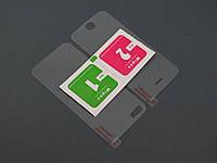 2 в 1 Защитное стекло Apple iPhone 5 5s SE