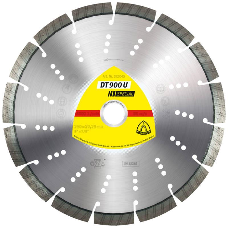 Алмазный отрезной круг Klingspor DT 900 U Special 450x3,6x30/26w/10