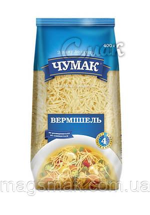 """Макароны """"Чумак"""", """"Вермишель"""", из твёрдых сортов пшениы 0,4 кг, фото 2"""
