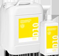 D10 Дезинфекция и очистка аспирационных систем