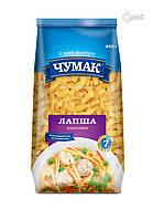 """Макароны """"Чумак"""", """"лапша короткая"""", из твёрдых сортов пшениы 0,4 кг"""