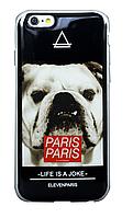 Накладка силиконовая на телефон айфон iPhone 6 Evelin Paris