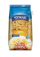 """Макароны """"Чумак"""", """"Перья"""", из твёрдых сортов пшениы 0,4 кг"""