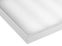 Светодиодный светильник LEDEFFECT 33Вт Офис Грильято Текстура 600х600мм