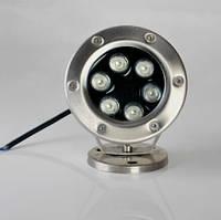 Подводный Led светильник 6W RGB