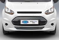 Ford CONNECT (2014+) Накладки на передний бампер (нерж.) 4 шт. Omsa