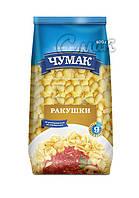 """Макароны """"Чумак"""", """"Ракушки"""", из твёрдых сортов пшениы 0,4 кг"""