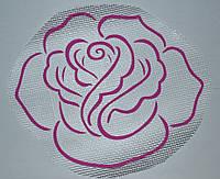 Роза А2 - декор для жидких обоев