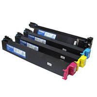 Комплект тонер-картриджей (CMYK) для Konica Minolta Bizhub C250/C252/ C250p/C252P(TN210), (8938509-8