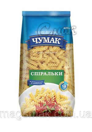 """Макароны """"Чумак"""", """"Спиральки"""", из твёрдых сортов пшениы 0,4 кг, фото 2"""
