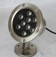 Подводный Led светильник 9W RGB