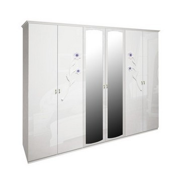 шкаф Лулу 6Д с зеркалом