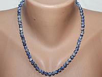 Ожерелье Содалит 44 см Ш 6 мм