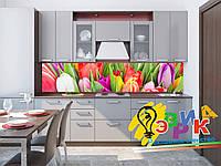 Кухонные фартуки Тюльпаны