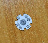 Подложка для светодиодов 0.5-3Вт 16мм белая