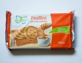 Печенье без глютена Vita Well Frollini con Millefiori, 300 г