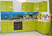 Кухонные скинали Моря и океаны