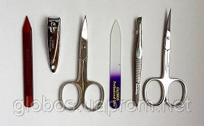 Набор инструментов для маникюра GLOBOS 702-9N, фото 2