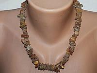 Ожерелье Янтарь 40 см 9-18 мм Натуральный Лечебный