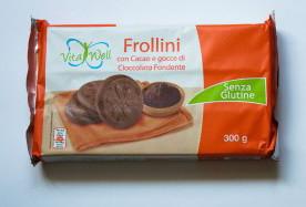 Печенье без глютена Vita Well Frollini con Cacao, 300 г