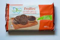Печенье без глютена Vita Well Frollini con Cacao, 300 г, фото 1